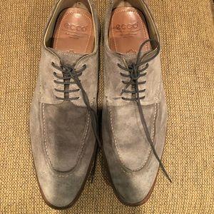 ECCO Suede Dress Shoes